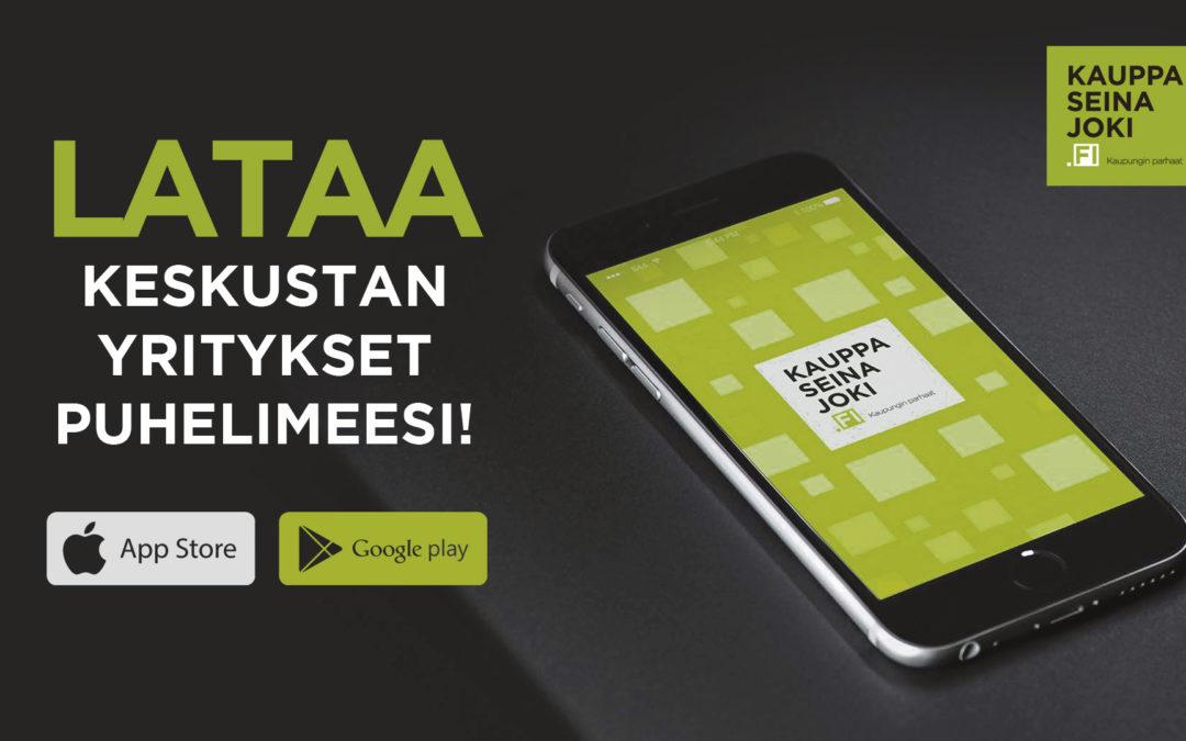 Lataa Kauppaseinäjoki.fi -Mobiilisovellus puhelimeesi!